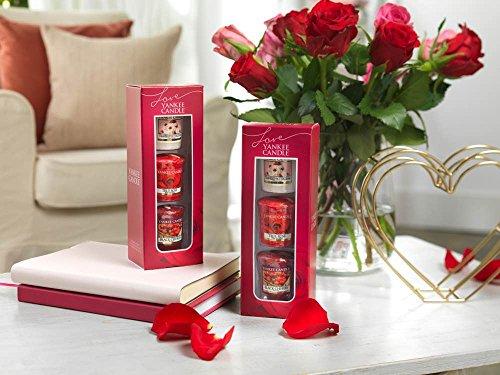 Express-geschenk-set (Yankee Candle Valentinstag 2018 3 Sampler Votivkerze Geschenk-Set)
