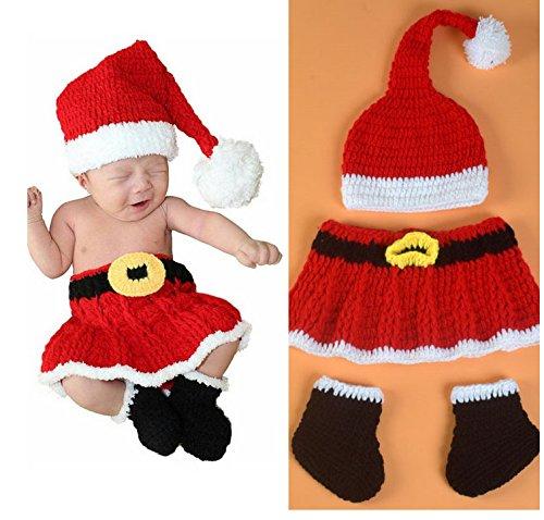 ten Baby Infant Neugeborenen Crochet Beanie Hat Kleidung Foto Outfits (Mädchen Garn Baby Kleinkind Kostüme)