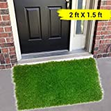 TIED RIBBONS High Density Artificial Lawn/Turf Grass mat for Balcony, Doormat, Turf Carpet