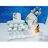 Apex Silk Melamine Set Of 41 Pcs Serving Dinner Set_IMI-DS505