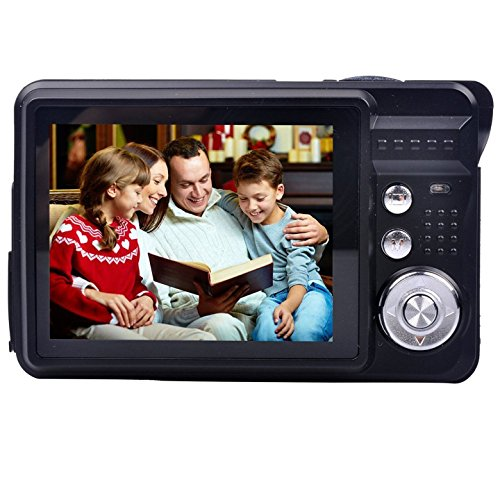 Compact digital Camera, Digitallife 2.7 inch TFT LCD 8x Digital Zoom HD 720P 18 Mega Pixels Video Camcorder for Kids,Adult and School