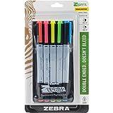Zebra Pen Zebrite Eco Surligneur, Multicolore, 19.05x 10.79x 1.77cm