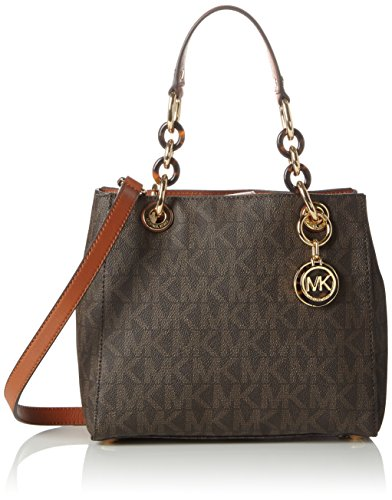 michael-kors-cynthia-small-sac-a-main-femme-marron-braun-brown-signature-taille-unique