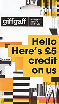 GiffGaff Sim Card For GPS Tracking Tracker PAYG GPRS APN Multi Size - Unlimited Calls, Texts, Data - Fits All Devices - £5 Bonus Credit With Your First Top Up Of £10 : everything £5 (or less!)