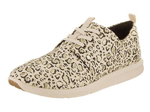 Toms Femmes Del Rey Womens Beige Imprimé Sneakers Ntrl-bobca