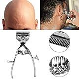 Tondeuses à cheveux manuelles - tondeuse à cheveux de barbier en acier inoxydable