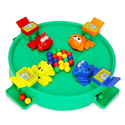 Speedmar UK Mode Wohnkultur Frosch Essen BeanToy, Neuheiten Spielzeug Crazy Frog Essen Bohnen Spielzeug Kid Educatinal Spielzeug