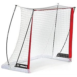 Franklin Unisex Jugend Fibertech Streethockey Tor Sports Complete 02 fiberflex Street Hockey Ziel Set, Rot, 127x102x66cm
