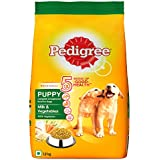 Pedigree Puppy Dry Dog Food, Milk & Vegetables, 1.2kg Pack