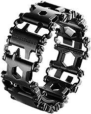 Leatherman Tread Stainless Steel Wearable Multi-Tool (Black)