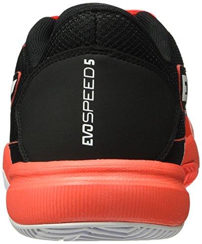 Erwachsene Black 01 Evospeed Unisex 5 Rot 5 Indoor White blast Hallenschuhe Red Puma OBqUHwF
