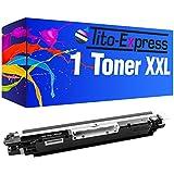 PlatinumSerie® 1 Toner-Patrone XXL Schwarz kompatibel für HP CE310A 126A LaserJet CP 1000 Series CP 1025 Color CP 1025 NW Color