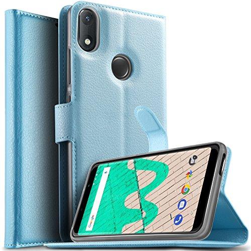 Cubot X16 X17 Smartphone Mappen Kasten, iBetter Premium PU Leder Mappen Kasten für Cubot X16 X17 X17S 5.0