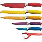 Royalty Line RL-COL5W 5 teilig cuchillos revestimiento antiadherente