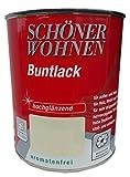 Schöner Wohnen Alkydharzlack Buntlack Hochglänzend 0,75 Liter, Farbe (RAL):RAL 8001 Ockerbraun