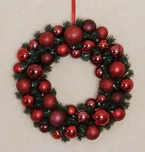 Weihnachtsdeko weihnachtskranz lichtkranz k che haushalt - Amazon weihnachtsdeko ...