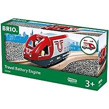 Brio - Locomotora de tren de pasajeros a pilas (33504)