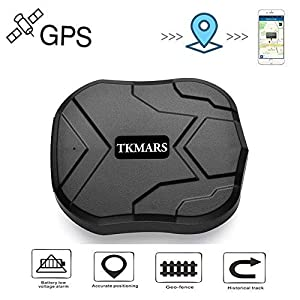 trackers gps: Tkmars GPS Tracker localizador GPS en tiempo real Localizador SMS Online 5000 mA...