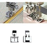 XuMarket (TM) cremallera 2 lados de pie para máquina de coser Brother Janome Singer
