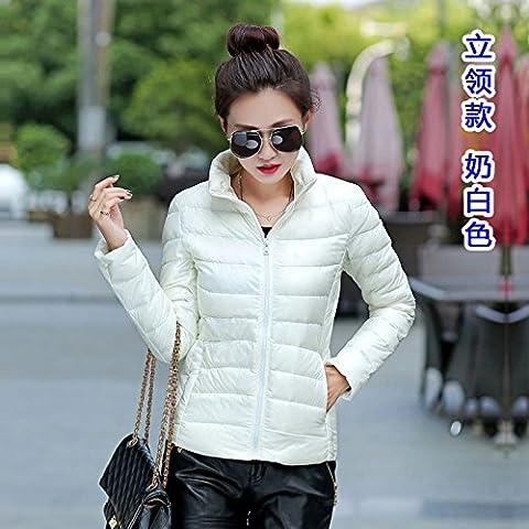 WJP donne ultra leggero rivestimento Packable gi? Outwear tampone piumino W-2100