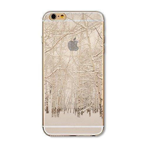 Coque iPhone 6 Plus 6s Plus Housse étui-Case Transparent Liquid Crystal en TPU Silicone Clair,Protection Ultra Mince Premium,Coque Prime pour iPhone 6 Plus 6s Plus-Paysage-style 7 2