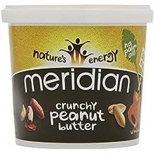 Meridian Natural Crunchy Peanut Butter - No added sugar and no added salt - 1kg