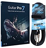 Guitar Pro 6 Hybrid con tablature editor software + Cavo per chitarra GC04 KEEPDRUM 6 m