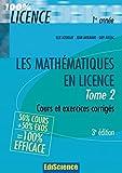 Les mathématiques en Licence - Tome 2 - 3ème édition