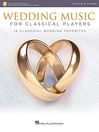 WEDDING MUSIC FOR CLASSICAL PLAYERS VLN/PF BK/AUDIO ONLINE