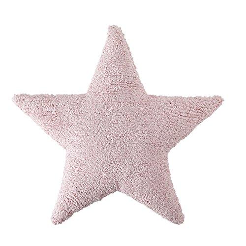 Cojín Estrella Rosa