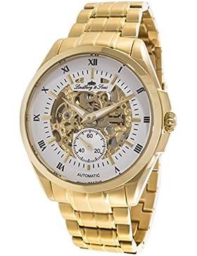 Lindberg&Sons Herren-Armbanduhr Analog Automatik Edelstahl CO559039D