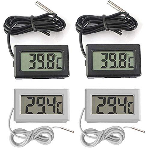 Thlevel 4X Monitor LCD Temperatura termómetro Digital