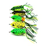 #7: Generic Random Color Fishing Lure Artificial Soft Lures Bait Frog Hooks Fishing Tackle
