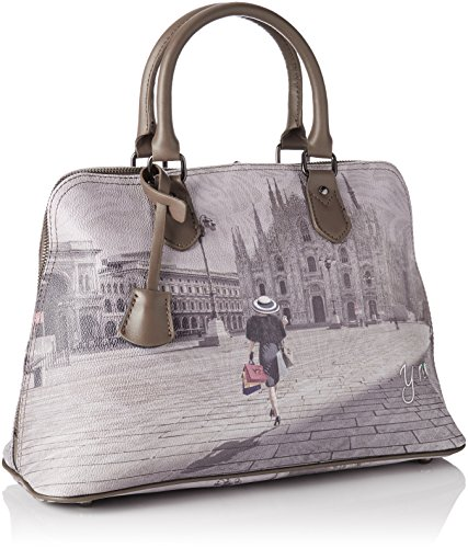 YNOT i-325, Borsa Bowling Donna, 34.5 x 35 x 15 cm (W x H x L) Multicolore (Fashion Shopping)