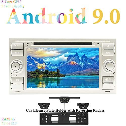 XISEDO Android 9.0 Autoradio 7 Pulgadas Car Radio 8-Core RAM 4G ROM...