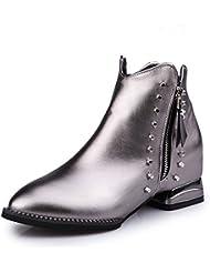 KHSKX-El inglés Martin botas el otoño y el invierno solo botas británicos Martin botas