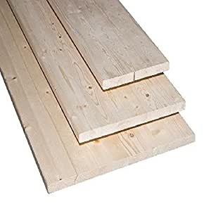 pannello / tavola lamellare abete 24 mm dim. 80 x 300 cm (1 pz.)