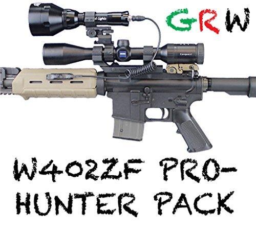 Wicked Lichter w402zf Pro Hunter Kit mit Grün, Rot, und Weiß LED