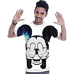 Mickey Mouse Fuck Off T-shirt Small