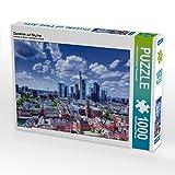 Domblick auf Skyline 1000 Teile Puzzle quer