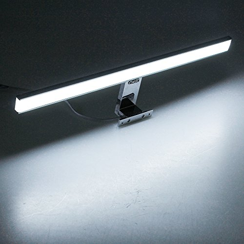 Croled lampe salle de bain led 8w 600lm blanc ip44 for Polissage aluminium miroir