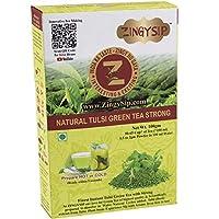 ZingySip Tulsi Green Tea Strong for Weight Loss Fast, Instant Green Tea Powder, 100g
