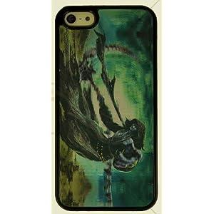 "3D Handy Back Case Cover ""Dämon"" für Apple Iphone 5 Handy Tasche Schale Cover Schutz Hülle Bumper"