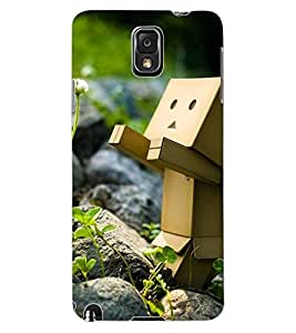 ColourCraft Funny and Creative Design Back Case Cover for SAMSUNG GALAXY NOTE 3