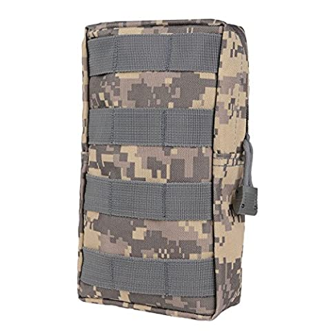 MOLLE Pouches - Compact Water-resistant Multi-purpose Tactical EDC Utility Gadget Gear Hanging waist Bags (L 7.8