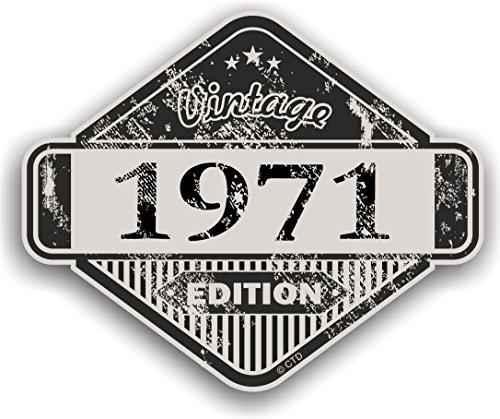 Distressed envejecido Vintage 1971Edition