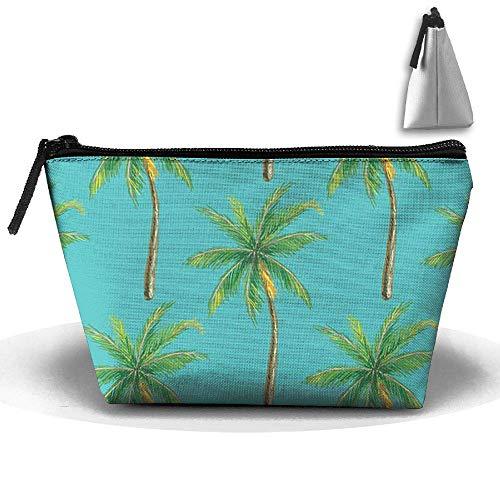 Palm Trees Toiletry Bags Reise Make-up Kosmetiktasche Multi