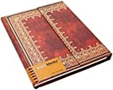 Paperblanks Old Leather Foiled Ultra Notebook with Lined Pages