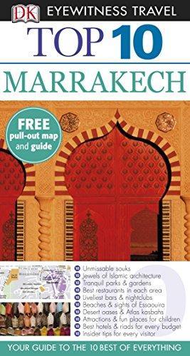 DK Eyewitness Top 10 Travel Guide: Marrakech