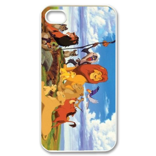 LP-LG Phone Case Of Lion King For Iphone 4/4s [Pattern-6] Pattern-4